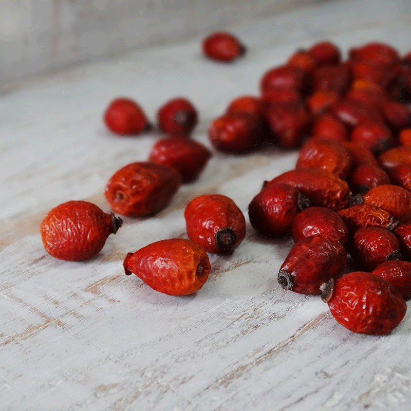how to use whole dried rose hips